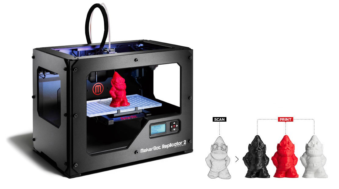 Better not forget about this ……… The MakerBot Digitizer ...